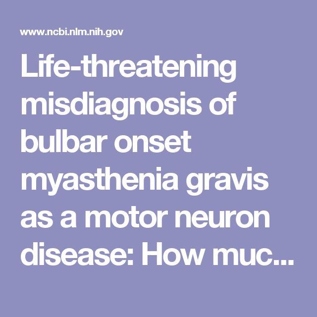 25 best ideas about motor neuron on pinterest nervous for Bulbar motor neuron disease