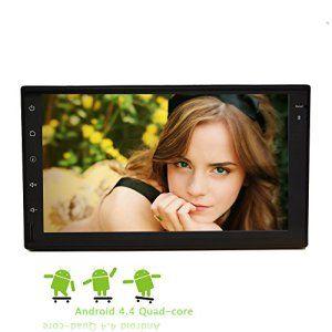 Eincar 7 pouces Quad Core Android Tablet PC de voiture FM AM RDS šŠcran tactile capacitif autoradio HD 4.4 Stereo voiture soutien Head Unit…