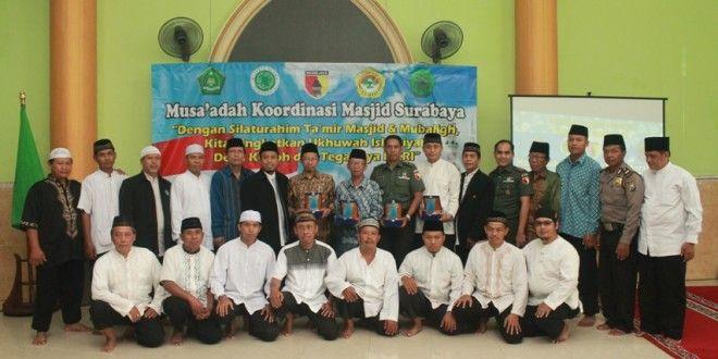 Koordinasi Masjid Surabaya (Koormas Surabaya) mengadakan pengajian rutin dengan mengundang seluruh ketua Takmir masjid dan mubaligh se-Surabaya, Minggu (24/4) di Masjid Baitil Jannah, Jalan Ikan Duyung No. 29 Surabaya.