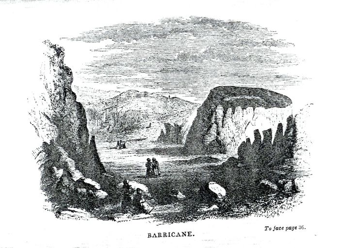 'And thus we came to Barricane.' The shell beach in North Devon, from Gosse's 1853 'A Naturalist's Rambles on the Devonshire Coast' - where he found wentletraps, cowries, and 'guggies'