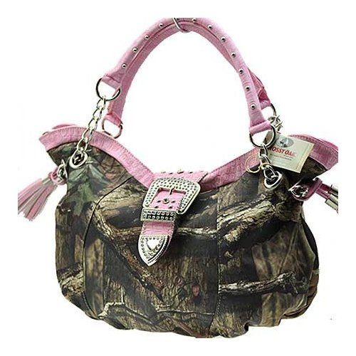 Pink Large Women Purse Handbag Camo Camouflage Mossy Oak Belt Buckle Everything Else Backwoods Barbie In 2018 Pinterest