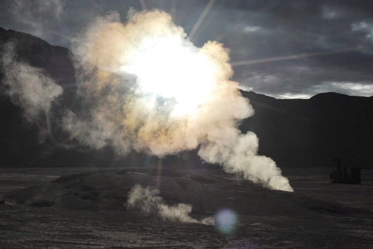 Tatio geysers - Atacama desert