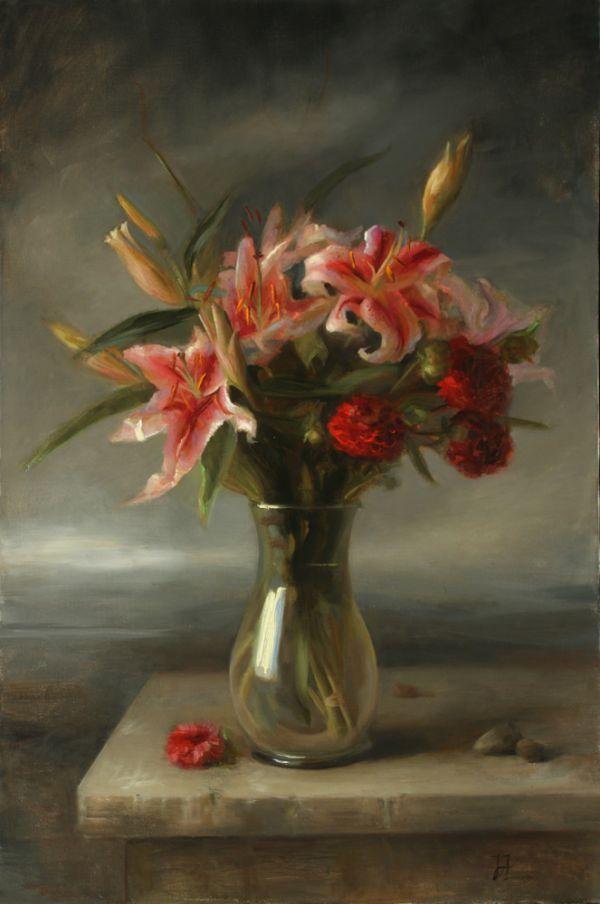 Painting Juliette Aristides | Art Renewal Center :: Juliette Aristides :: New Year's Day