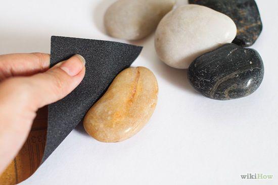 How to polish rocks/stones