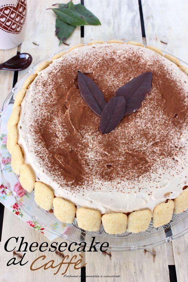 Tiramisù cheesecake, Cheesecake al caffè per la festa del papà