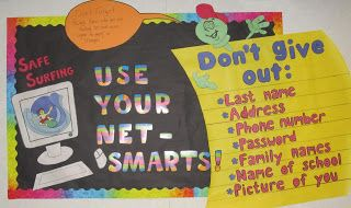 Digital Citizenship at the Elementary Level Love this Bulletin Board