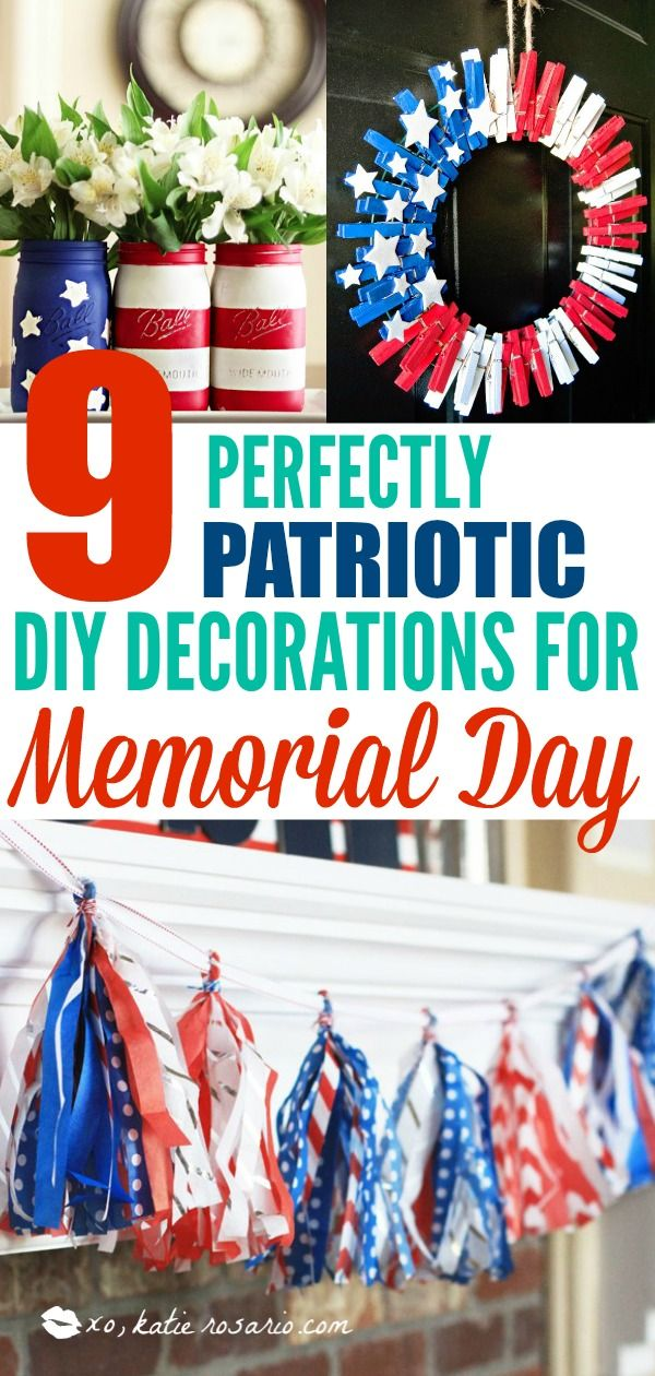 9 Clever Patriotic Diy Projects Decor Ideas For Memorial Day Do
