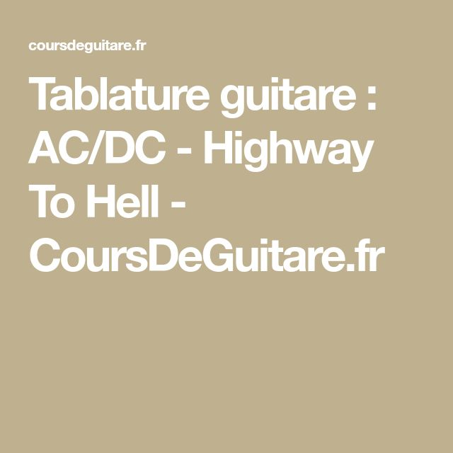 Exceptionnel Más de 25 ideas increíbles sobre Highway to hell en Pinterest | Ac  SW14
