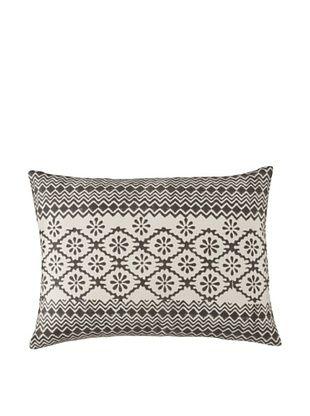 Filling Spaces Adwita Pillow (Black/White)