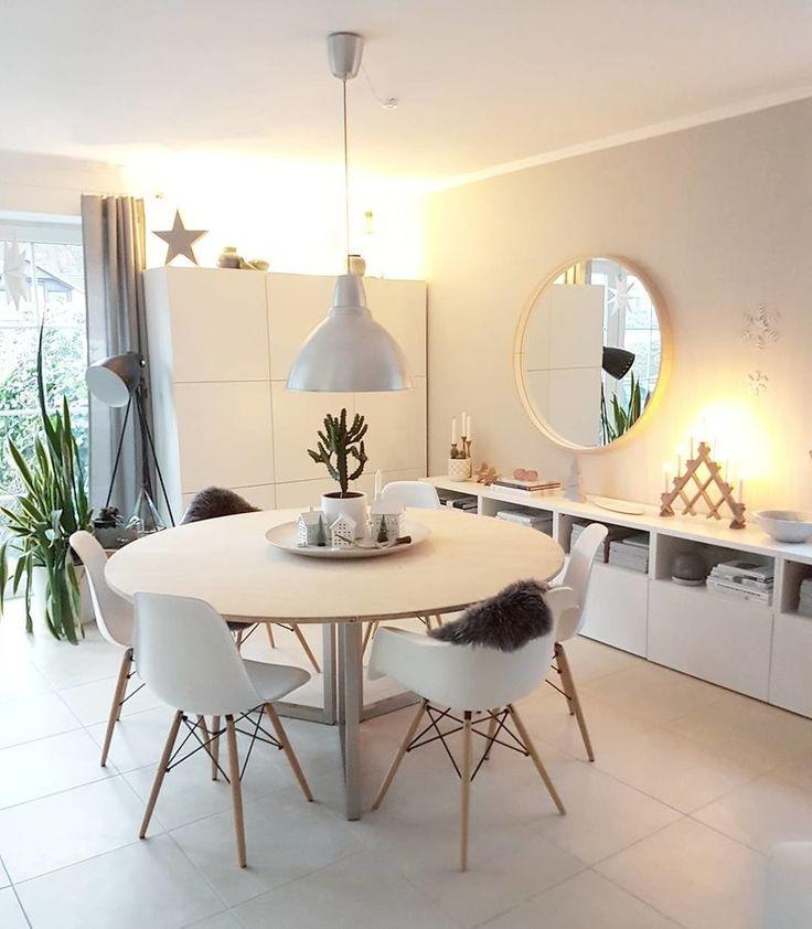 die 25 besten ideen zu runde tische auf pinterest runde. Black Bedroom Furniture Sets. Home Design Ideas
