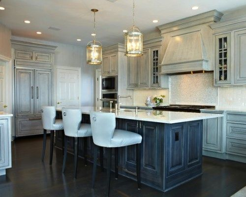 Newest Kitchen Cabinet Finishes For 2014 | Color Washed Finishes Lead The  2014 Kitchen Trends