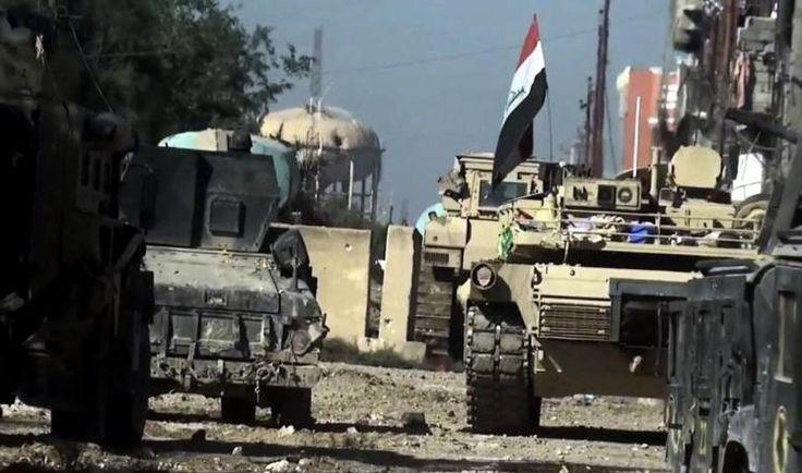"""KIBLAT.NET, Baghdad – Kementerian Pertahanan Iraq mengaku dua serangan udaranya di provinsi Anbar telah menewaskan tokoh senior dan 29 militan ISIS. Dalam sebuah pernyataan, kementerian tersebut mengungkapkan bahwa pihaknya telah menargetkan """"pertemuan para pemimpin keamanan ISIS di kota Al-Qaim (perbatasan Iraq-Suriah) yang menyebabkan terbunuhnya 16 militan"""". Dikutip dari Anadolu Agency pada Ahad (03/04), sembilan jasad …"""
