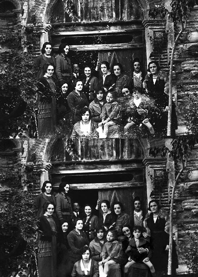 """Fotografía restaurada de la colección """"Ezequiel Tudela Calvo"""". (Ágreda, años 20 del siglo XX). Enlace al audiovisual...   https://youtu.be/2pI2u4U0WV4                                      • Photograph restored."""