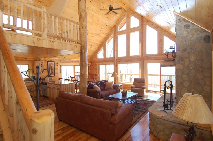 North Carolina cabins, Mountain Vacation Rentals and Lakefront Cottages: Asheville Luxury Mountain Vacation Rentals