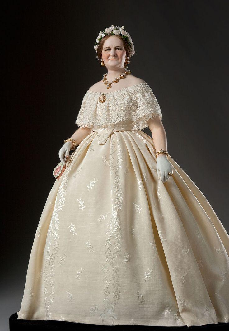 Мэри Энн Тодд Линкольн (1818 — 1882) — супруга 16-го президента США Авраама Линкольна