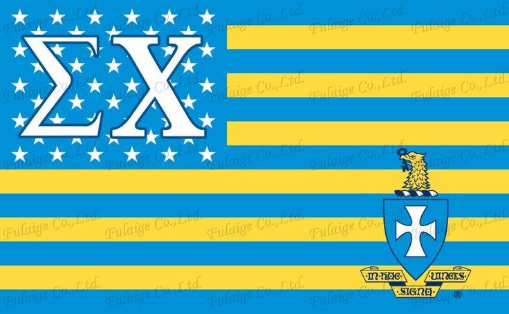 Бесплатная доставка Сигма Чи США Стиль Колледжа Братство Официальным Лицензированным Флаг 3ft * футов Размер офис/парад/украшения/главная флаг.