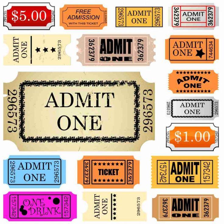 25  unique admit one ticket ideas on pinterest