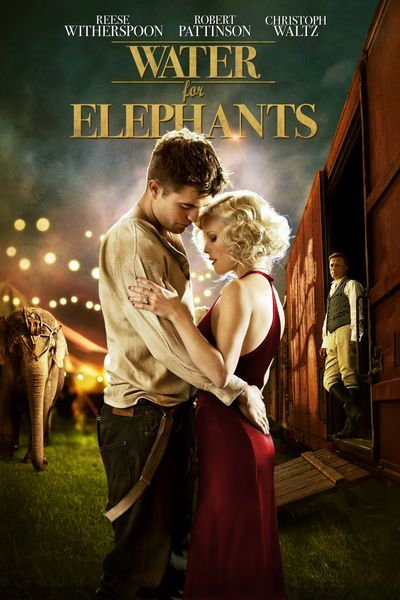 Jacob Jankowski (Robert Pattinson), a veterinary student, is close to graduating when a terrible tragedy forces him to leave school. With nowhere else to go, he hops on a passing train and finds it belongs to a traveling circus. Jacob takes a job as an animal caretaker and meets Marlena (Reese Witherspoon), a beautiful circus performer. Their shared compassion for a special elephant named Rosie leads to love, but August (Christoph Waltz), Marlena's cruel husband, stands in their way.