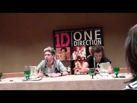 Meet & Greet with Harry & Niall from One Direction - YouTube