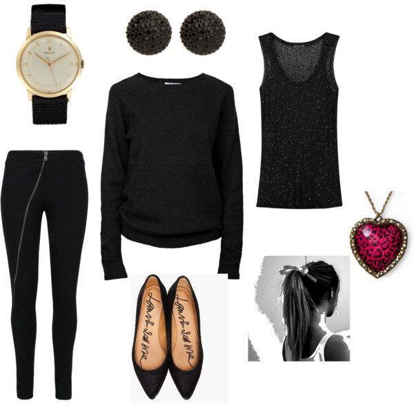 Awesome Express Black Dress work wear!  I work in a place that has an all black dress code. This is what I w... Check more at http://24store.ml/fashion/express-black-dress-work-wear-i-work-in-a-place-that-has-an-all-black-dress-code-this-is-what-i-w-2/