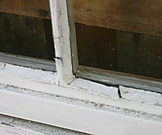 How To Reglaze or Repair a Window