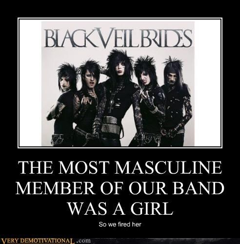 black+veil+brides+funny+pictures | Very Demotivational - black veil brides - Work Harder, Not Smarter ...