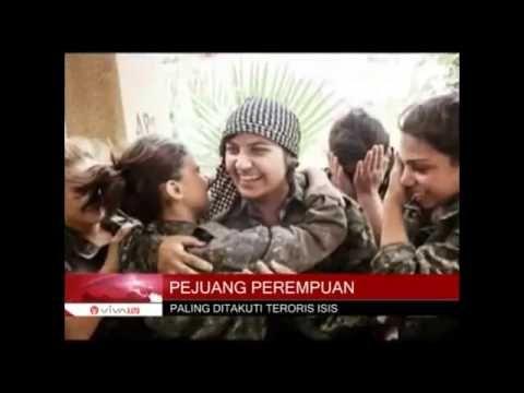Tenrara Paling Ditakuti ISIS Batalion Pejuang Wanita Kurdi