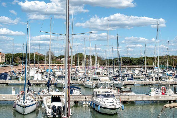 Barche tra le nuvole #navigare #mare #sea #clouds
