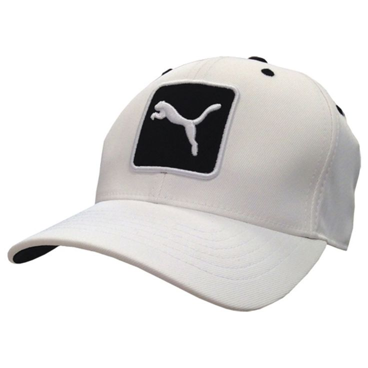 Fancaps - Golf Cat Patch Relax Adjustable Cap White Black, $34.00 (http://www.fancaps.com.au/golf-cat-patch-relax-adjustable-cap-white-black/)