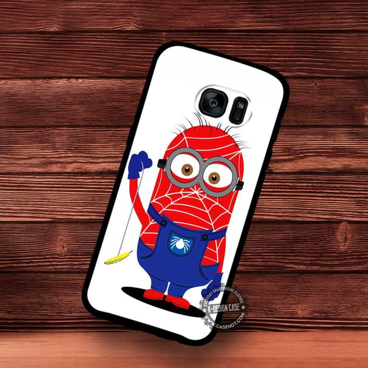 Spider Minion Cosplay - Samsung Galaxy S7 S6 S5 Note 7 Cases & Covers