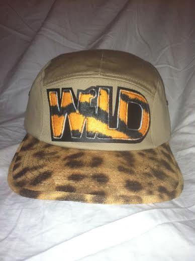 WILD Leopard Print Hat by ALIENS of BROOKLYN