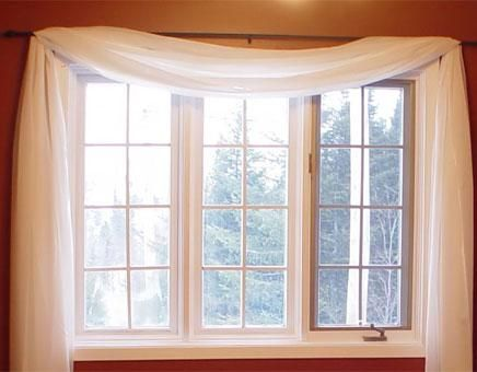 Curtains Ideas curtains for casement windows : 17 Best images about windows on Pinterest | Bay window curtain rod ...