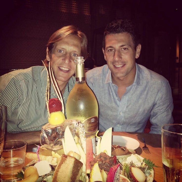 Ambrosini and Bonera celebrate bonera's birthday in Dubai