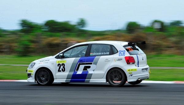 JK Tyre Volkswagen Polo R Cup 2012 Round 3 Race 2 winner Mihir Dharkar: Ameya Walavalkar leads overall standing