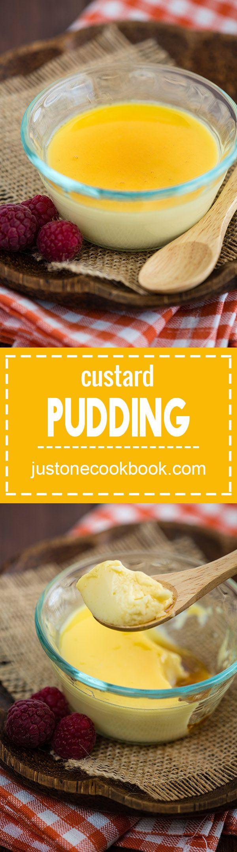 Custard Pudding (蒸しプリン) | Easy Japanese Recipes at JustOneCookbook.com