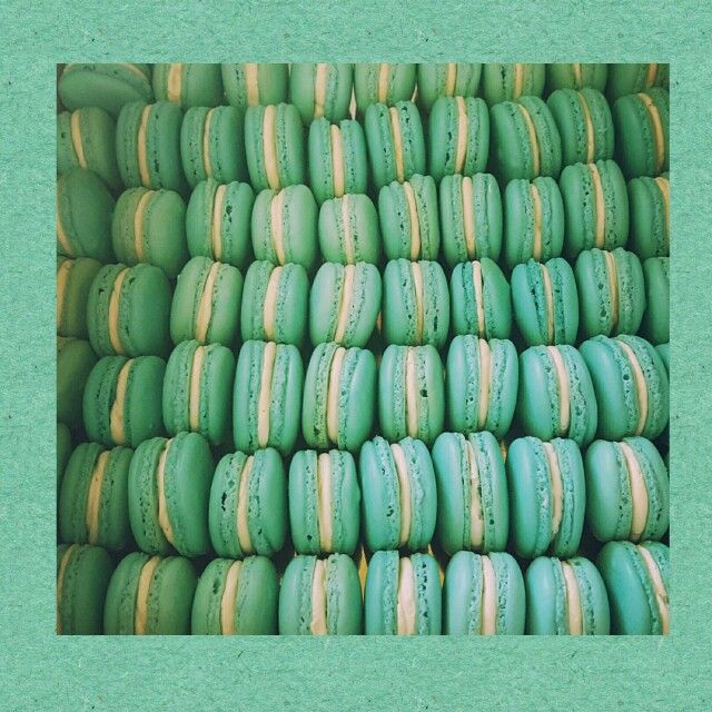 Tiffany Themed French Macarons