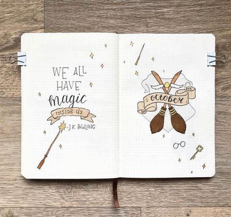 Que inspiração de Harry Potter para os diários de bala mais mágicos! #stabilonl # …   – Harry Potter