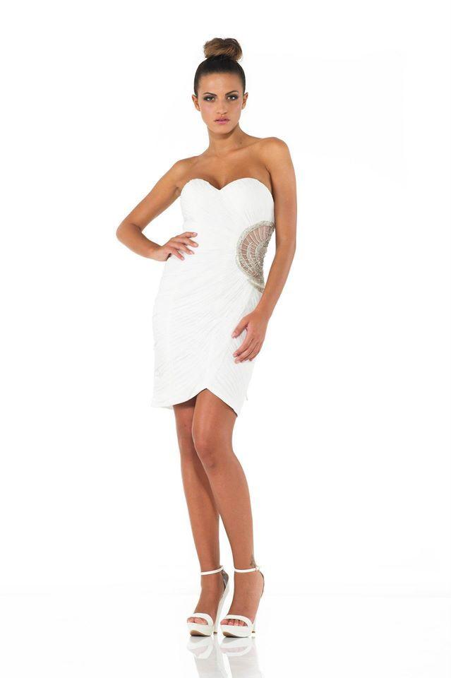 #minidress #white #night #details #woman #girl #lady #sexy #fashion #moda #springsummer 2014 #models