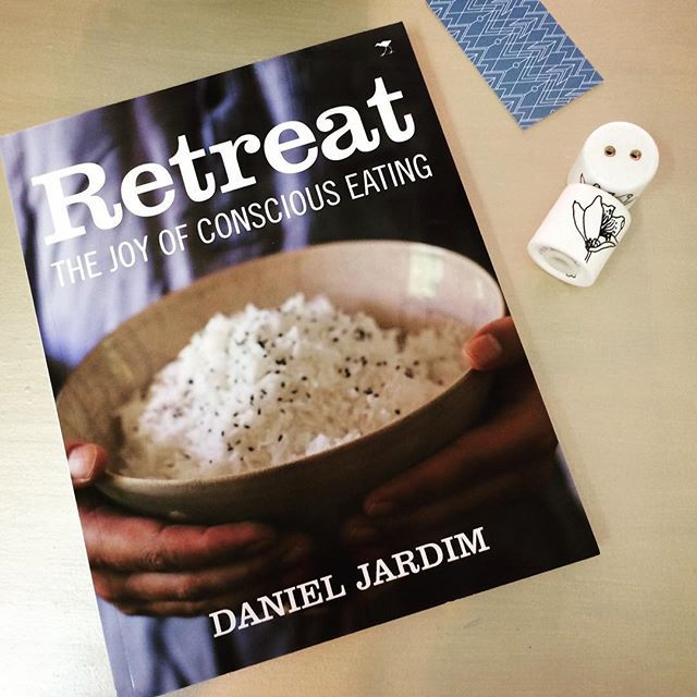 "Retreat : the joy of conscious eating - R295 + Salt & peppers shakers - R120. ""Bon appétit""  #tidyonlong & online"
