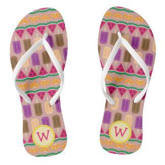Summer Sweets Flip Flops