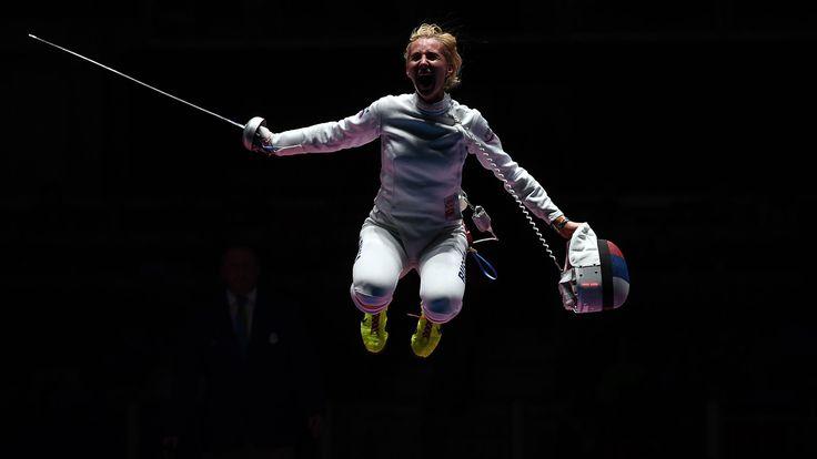Jeux Olympiques - Épée : Emese Szasz décroche la médaille d'or
