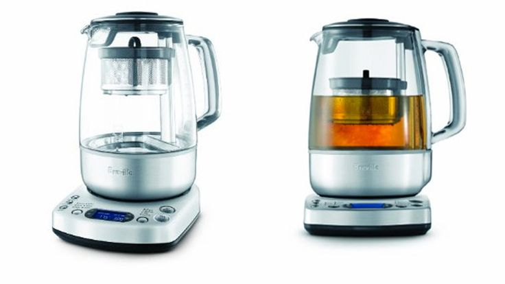 Breville One Touch Tea Maker Review Precision Meets Price Tea Maker Electric Tea Kettle Brewing Tea