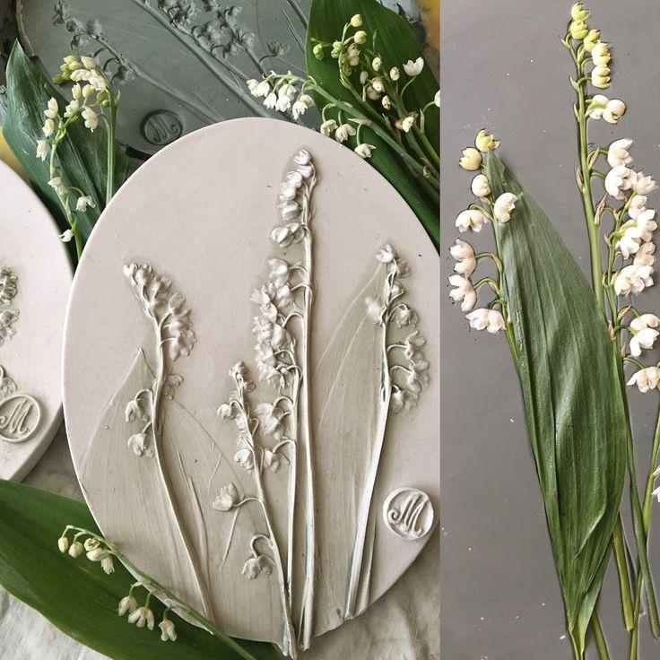 Botanicl baz-relief by Marianna Makarova