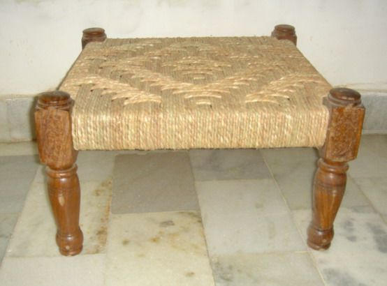 Piri - jute woven stools