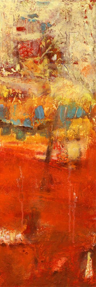 Contemporary abstract painting by Gaziano - I'm generally not a fan of abstract art, but this is gorgeous.