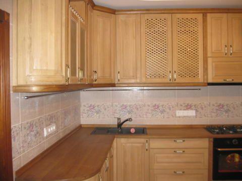 Кухонные столешницы из натурального дерева | Кухни из дерева Киев