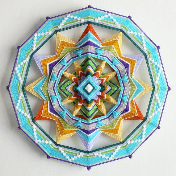 Beautiful Ojo de Dios by JaysMandalas, $117.00