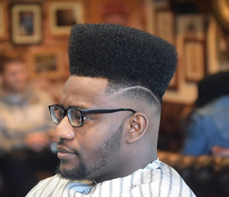 Astymiscial Line With High Top Fade Haircuts For Black Men