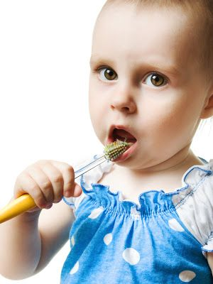 Protect Your Baby's Teeth From Your Cavities!