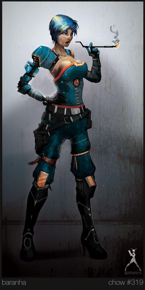 The-Starbound-Outlaw-FinalC by Baranha.deviantart.com on @deviantART